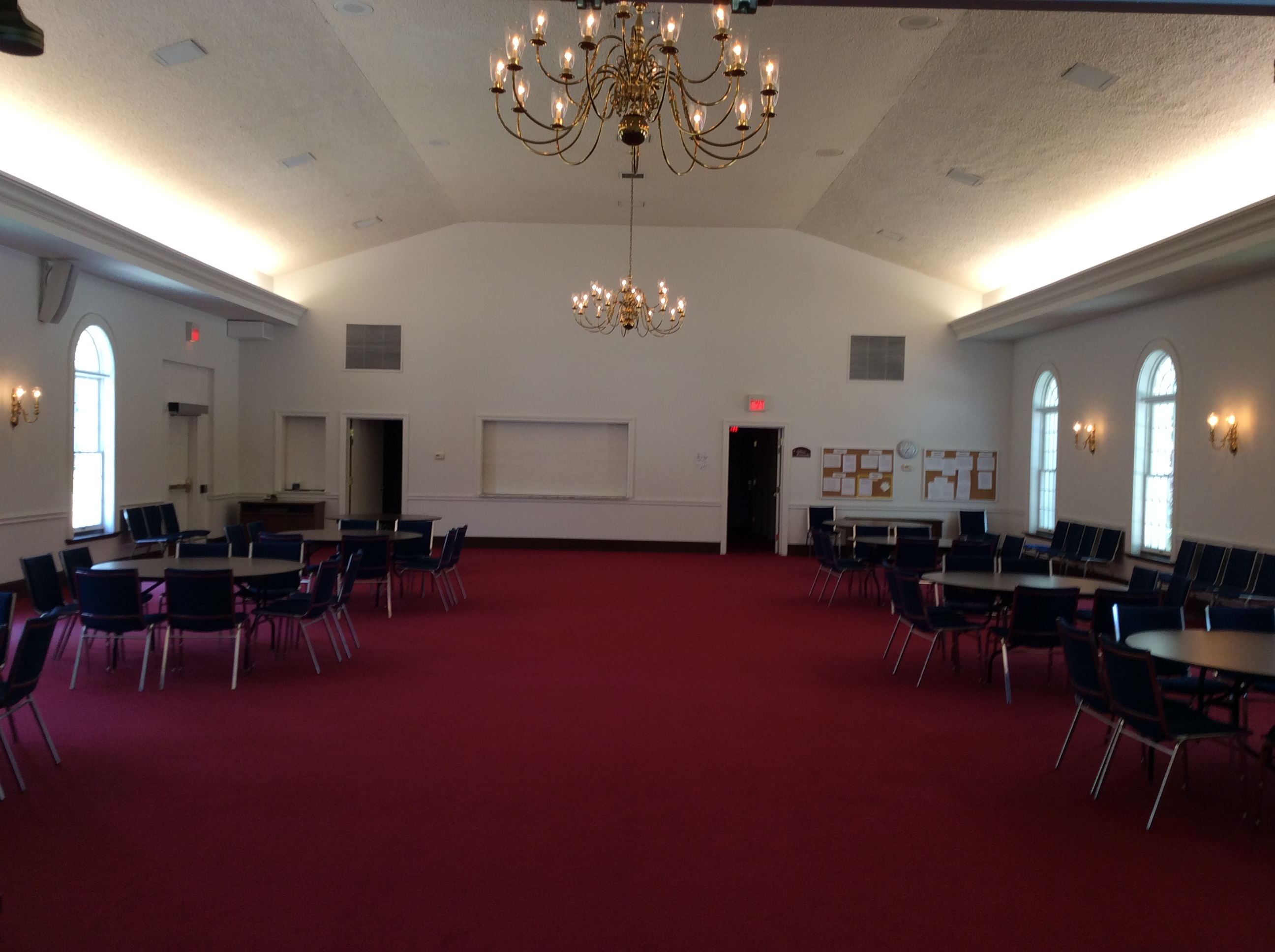 Wedding Receptions In The Fellowship Hall University