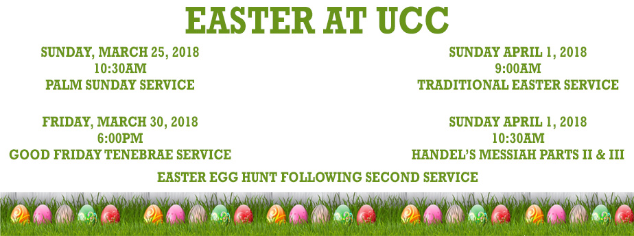 Easter at UCC