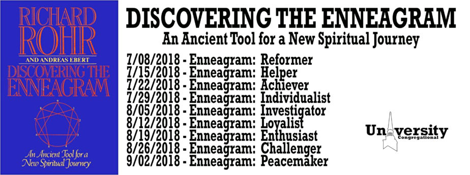 Click to take the Enneagram Character Test!!