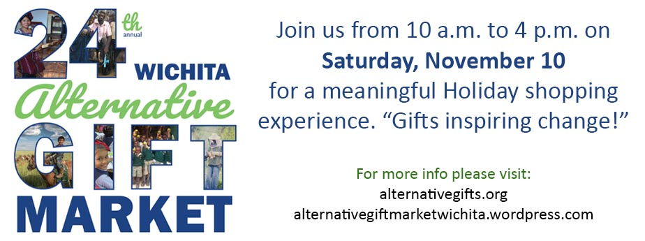 24th Annual Alternative Gift Market - Hosted by University Congregational Church
